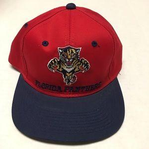 62b59c01 nhl Accessories   Vintage Florida Panthers Logo Snapback Hat   Poshmark